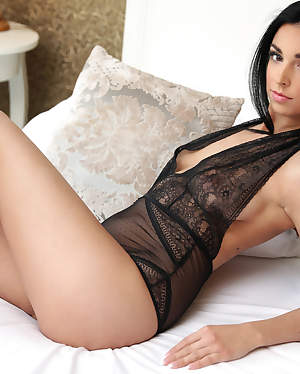 Nubiles - Boudoir featuring Foxii Black. (Photos)
