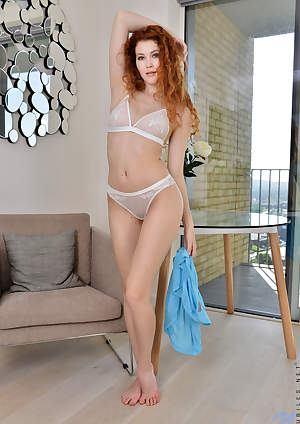 Nubiles - Natural Redhead featuring Heidi Romanova. (Photos)